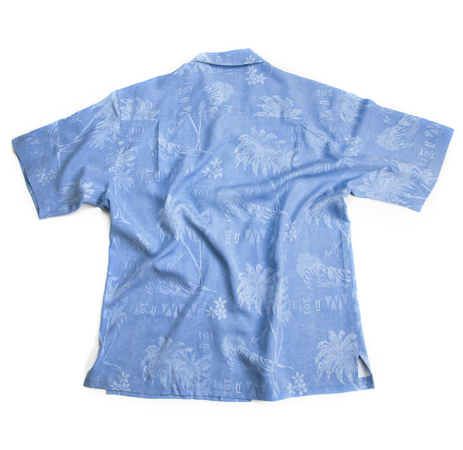 BLUE MEN'S SURF SHIRT side View