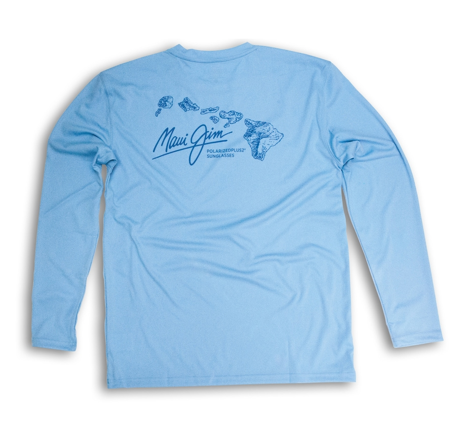 BLUE DENALI PERFORMANCE LONG SLEEVE side View