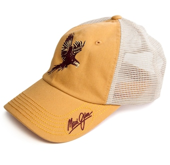 YELLOW JIMMY BIRD TRUCKER Front View