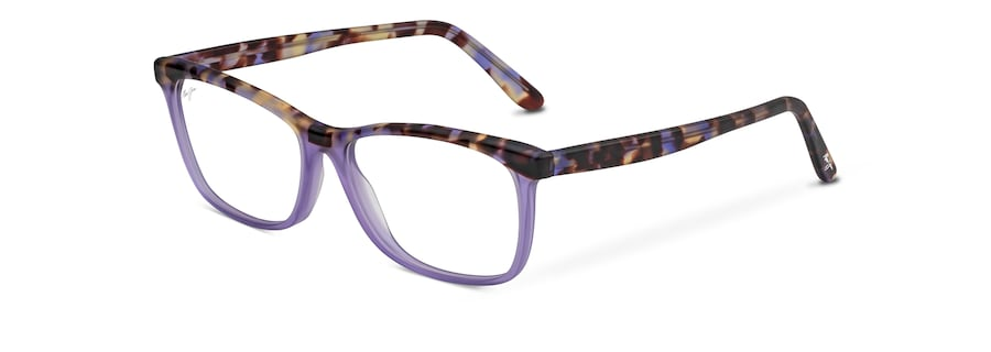 Matte Lilac Tortoise with Lilac MJO2110 angle view