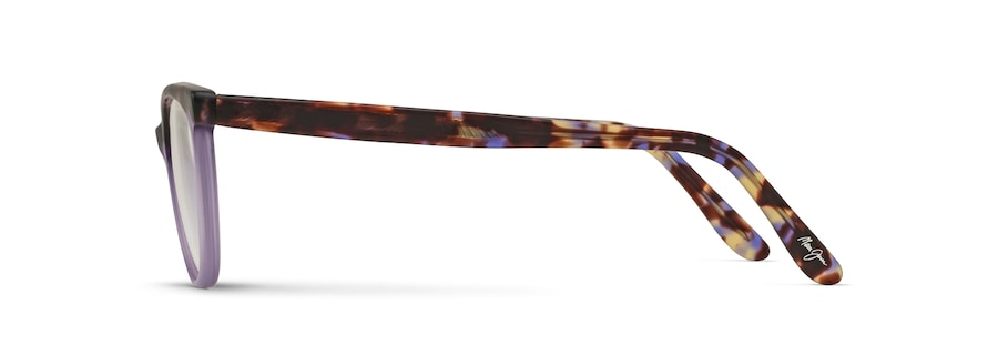 Matte Lilac Tortoise with Lilac MJO2111 side view