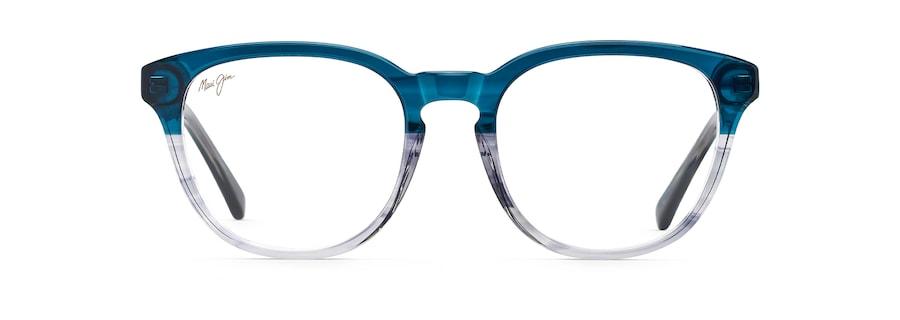 Dégradé bleu á cristal MJO2126 front view