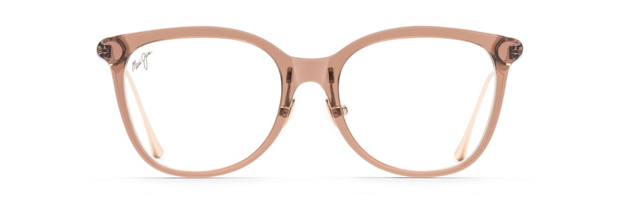 Mauve with Rose Gold temples MJO2221 front view