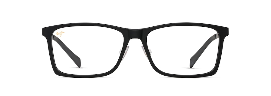 Matte Black with Brushed Dark Gunmetal Temples MJO2407 front view