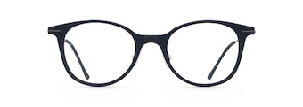 Matte Blue with Dark Gunmetal Temples MJO2413 front view