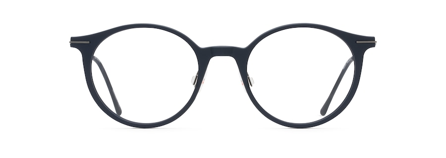 Matte Blue with Dark Gunmetal Temples MJO2414 front view