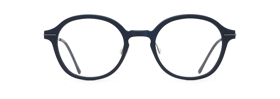 Matte Blue with Dark Gunmetal Temples MJO2415 front view