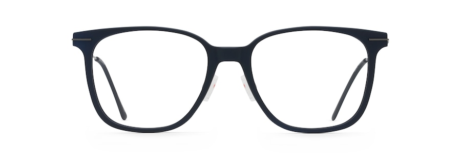 Matte Blue with Dark Gunmetal Temples MJO2416 front view