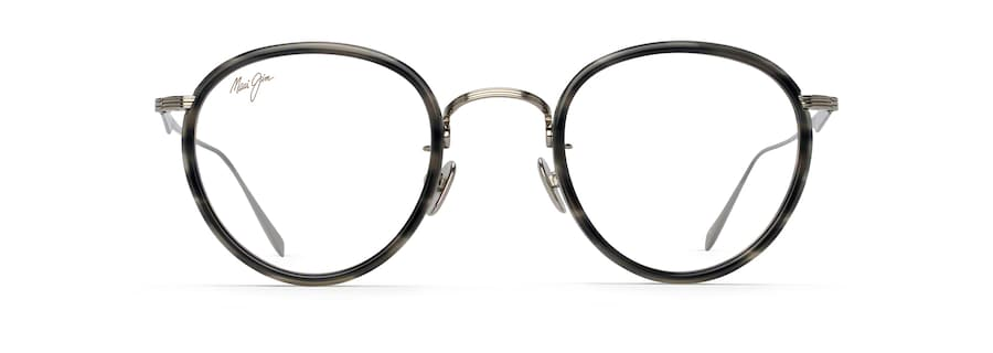 Light Gunmetal with Grey Tortoise Acetate Rim MJO2420 front view
