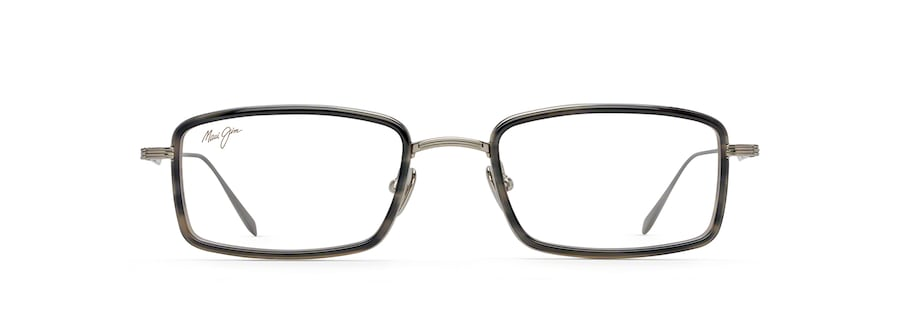 Light Gunmetal with Grey Tortoise Acetate Rim MJO2421 front view