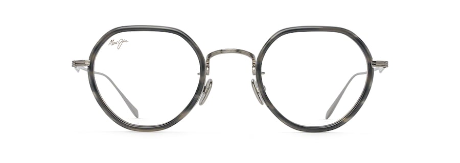 Light Gunmetal with Grey Tortoise Acetate Rim MJO2422 front view