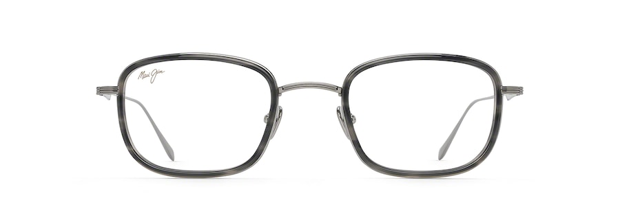 Light Gunmetal with Grey Tortoise Acetate Rim MJO2423 front view