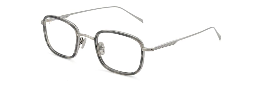 Light Gunmetal with Grey Tortoise Acetate Rim MJO2423 angle view