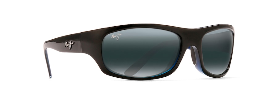 Black with Blue SURF RIDER angle view