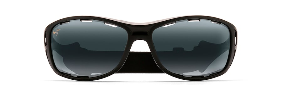 a90b850fd2ec5 Maui Jim · Solaires · Enveloppant  WATERMAN. Noir Mat WATERMAN front view  ...