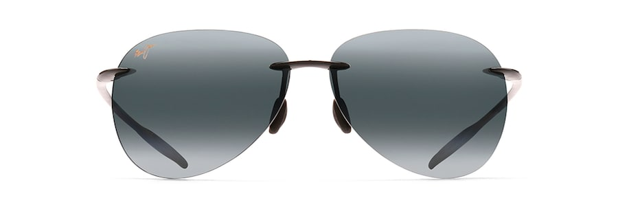 a9c844b94 Maui Jim · Sunglasses · Rimless; SUGAR BEACH. Gloss Black SUGAR BEACH front  view ...