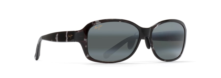 Black and Grey Tortoise KOKI BEACH ASIAN FIT quarter view