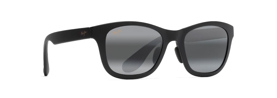 bd68a64f68 Maui Jim · Sunglasses · Classic  HANA BAY. Matte Black HANA BAY front view   Matte Black HANA BAY angle view ...