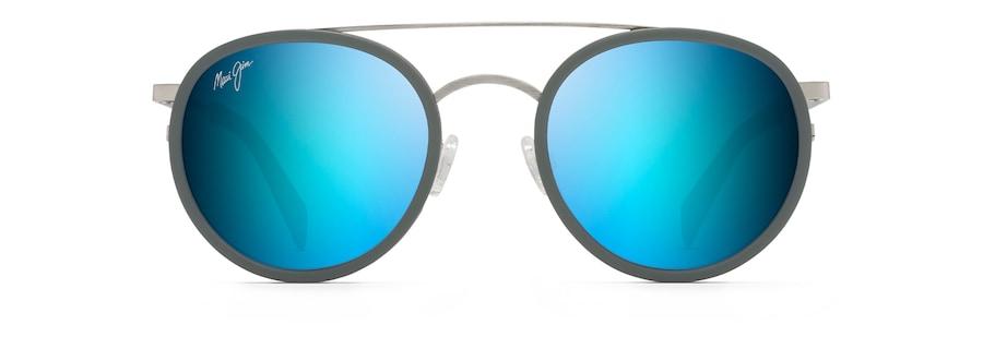 Gebürstetes Silber mit blauem Pulver EVEN KEEL front view