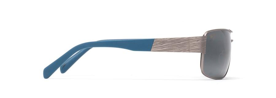 Grigio satinato con punte blu OHIA side view