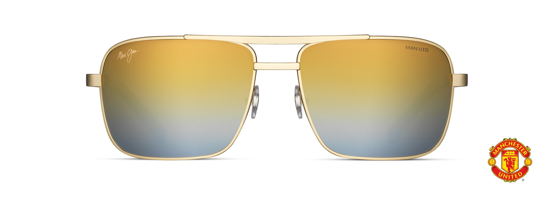 Cook Pines 774 Maui Jim Sunglasses with Patented PolarizedPlus2 Lens Technology Aviator Frame