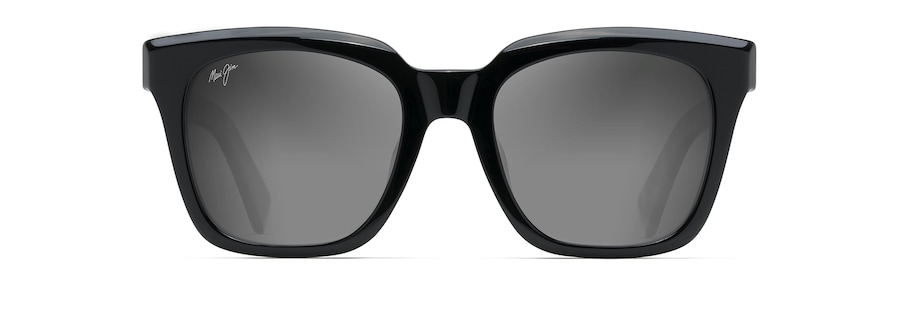 Black Gloss with Tokyo Tortoise Temples HELICONIA front view