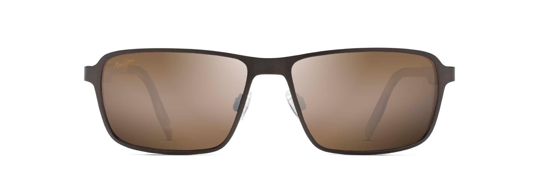 03167386955d GLASS BEACH. Polarized Rectangular Sunglasses