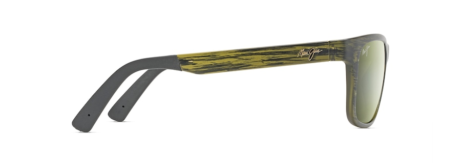 Matte Green Stripe SOUTH SWELL side view