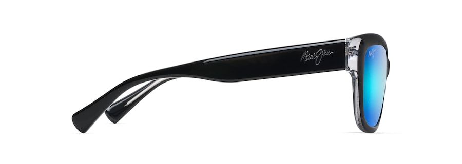 631c9776051e Maui Jim · Sunglasses · Cat Eye  PLUMERIA. Black with Crystal PLUMERIA  front view  Black with Crystal PLUMERIA angle view  Black with Crystal  PLUMERIA side ...