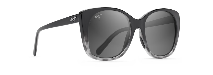 Black with Grey Tortoise MELE angle view