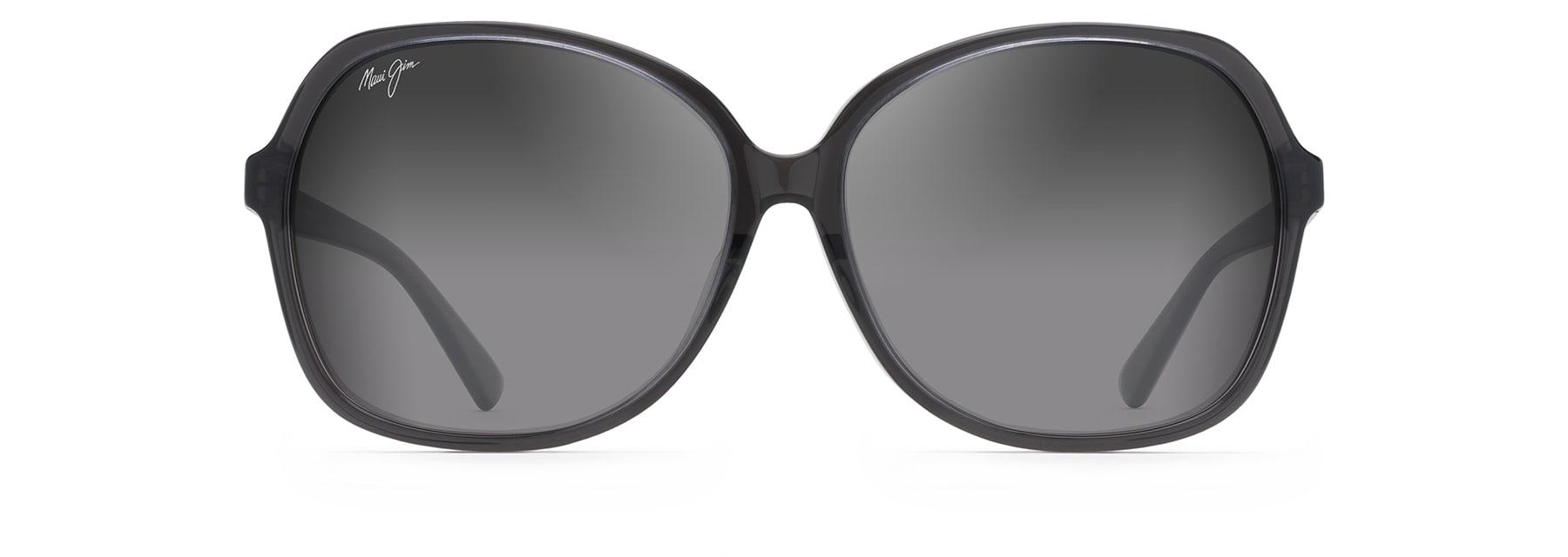 Modisch Cateye Sonnenbrille Katzenaugen Vintage transparente Gläser Verspiegelt