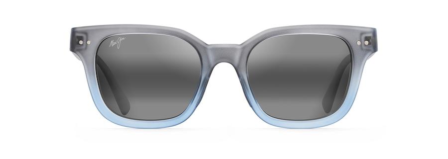 Opaco traslucido blu grigio dissolvenza SHORE BREAK front view