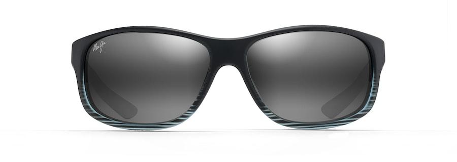 Grey Black Stripe KAIWI CHANNEL front view