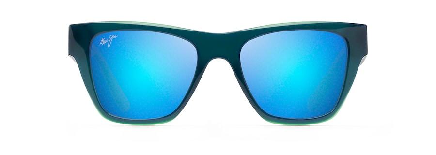 Bleu / Vert / Gris 'EKOLU front view